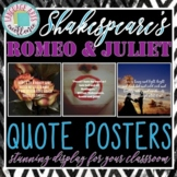 Romeo & Juliet Quote Posters