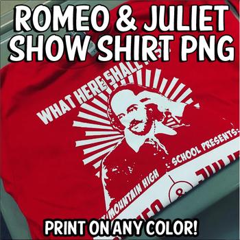 Romeo & Juliet Show Shirt Graphic