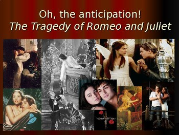 Romeo & Juliet Unit: Anticipation guide to Vocabulary