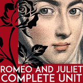 Romeo and Juliet Shakespeare | Romeo & Juliet Unit Plan: Activities, No-Prep