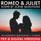 Romeo & Juliet Scene-by-Scene Questions, Shakespeare R&J P