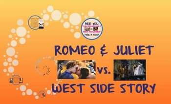 similarities between romeo and juliet and west side story