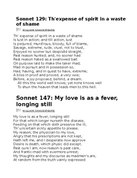 Romeo & Juliet worksheet 001