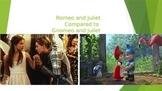 Romeo and Juilet versus Gnomeo and Juilet