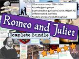 Romeo and Juliet - 17  Lesson Bundle