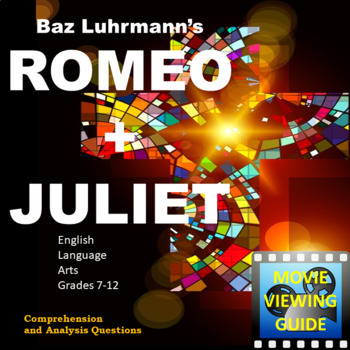 Romeo and Juliet Movie Guide 1996 Baz Luhrmann