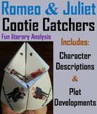 Romeo and Juliet Activity (Scoot Unit Review Game)