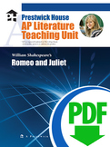 Romeo and Juliet AP Teaching Unit