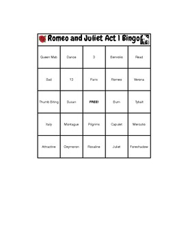 Romeo and Juliet Act 1