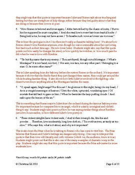 Romeo and Juliet Act 1 And 2 Test: Romeo and Juliet Test Questions and Answers