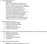 Romeo and Juliet Act 1 Assessment as teaching tool