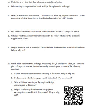 Romeo and Juliet Act 1 Questions and Answers | Scenes 1, 2, 3, 4 & 5 | Quiz