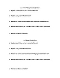 Romeo and Juliet Act 1 Scene 4 Comprehension Questions
