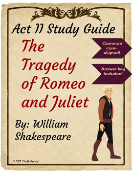 Romeo and Juliet Act 2 Study Guide