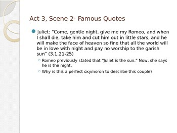 romeo and juliet act 3 scene 5 quotes