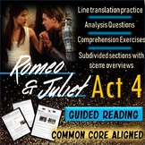 Romeo and Juliet Act 4 Packet