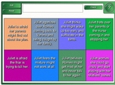 Romeo and Juliet: Act 4 Smartboard Activities
