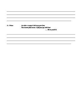 Romeo and Juliet Act 5 Quiz