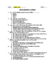 Romeo and Juliet- Act 5 Quiz and Answer Key