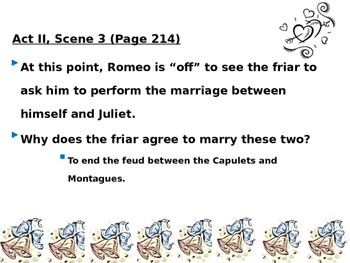 Romeo and Juliet - Act I Review PPT