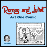 Romeo and Juliet Act One Comic