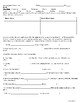Romeo and Juliet Act Two Packet: Prologue, Vocab, Critical Thinking ?s {CCSS}