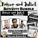 Romeo and Juliet Activities Bundle