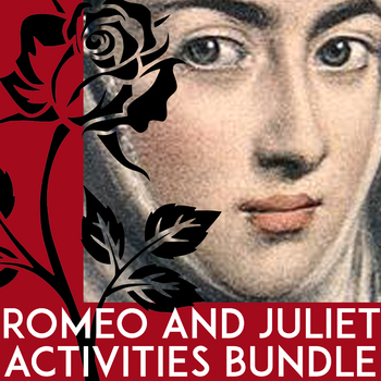 Romeo and Juliet Activities: Writing Prompts, Prereading, Contemporary Texts