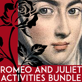 Romeo & Juliet Activities Bundle for Act 1, Act 2, Act 3, Act 4, & Act 5