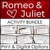 Romeo and Juliet Activity Bundle