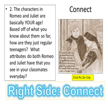 Romeo and Juliet: Activities for the Prologue and EVERY Act!