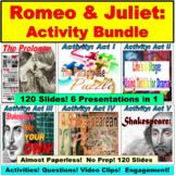 Romeo and Juliet: Activities Bundle