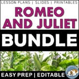 Romeo and Juliet Activity Bundle