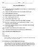 Romeo and Juliet Acts IV&V Test with Answer Key