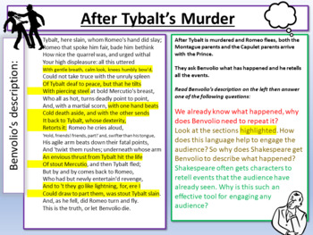 Romeo and Juliet - After Tybalt's Death