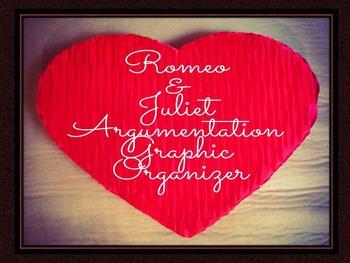 Romeo and Juliet Argumentation Graphic Organizers