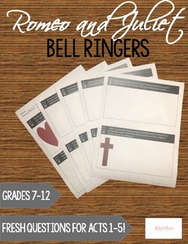 Romeo and Juliet Bell Ringers