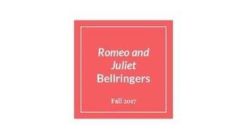 Romeo and Juliet Bellringers