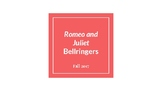 Romeo and Juliet Bellringers