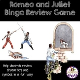 Romeo and Juliet Bingo Review Game