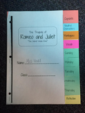Romeo and Juliet Booklet
