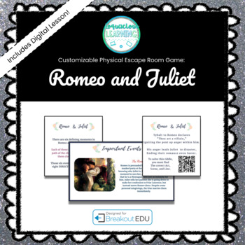 Romeo and Juliet Breakout Game