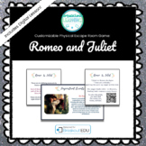 Romeo and Juliet Customizable Escape Room / Breakout Game