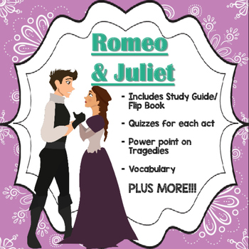Romeo And Juliet Bundle By Educate And Create  Tpt Romeo And Juliet Bundle