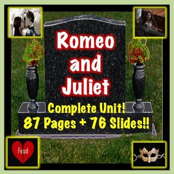Romeo and Juliet Bundle COMPLETE UNIT!
