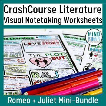 Romeo and Juliet Bundle: Crash Course Literature S1 Eps 2 and 3