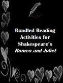 Romeo and Juliet Bundled Activities