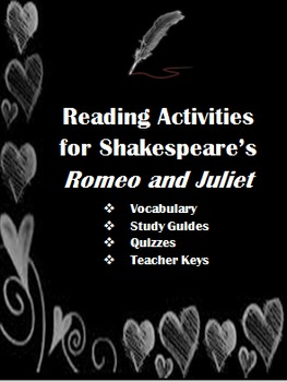 Romeo and Juliet Bundled Activities