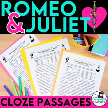 Romeo and Juliet CLOZE summary passages