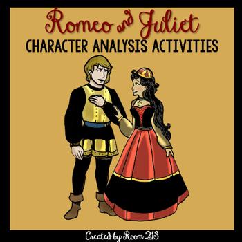 Romeo and Juliet Character Analysis Activities
